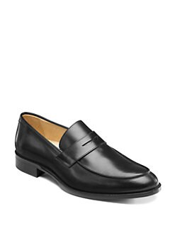 Saks Fifth Avenue Men's Collection - Split-Toe Penny Loafers