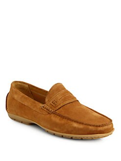 Saks Fifth Avenue Collection - Suede Drivers