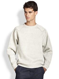 3.1 Phillip Lim - Solid Raglan Pullover Sweatshirt