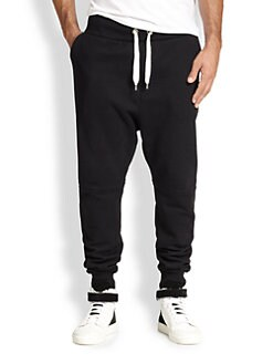 AMI - Slim-Leg Fleece Jogger Sweatpants