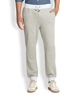 Band of Outsiders - Quilted Patch Sweatpants