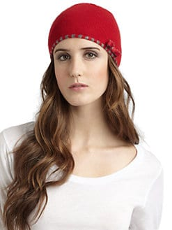 Portolano - Minerva Stripe Trim Hat