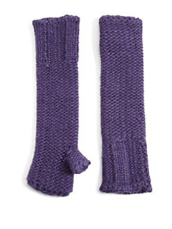 Portolano - Knit Fingerless Elbow Gloves