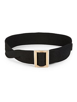 Costume National - Woven Twist Belt