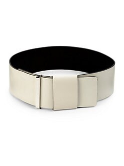 Costume National - Wide Leather Belt