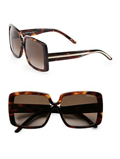 Nina Ricci - Oversized Square Acetate Sunglasses