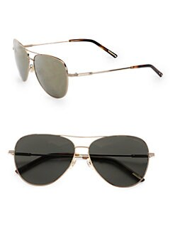 Nina Ricci - Aviator Metal Sunglasses/Gold