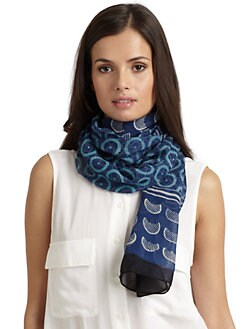 Harshita - Silk Chiffon Scarf