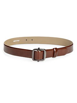 MaxMara - Polished Leather Belt