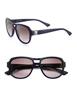 Sonia Rykiel - Aviator Acetate Sunglasses/Blue