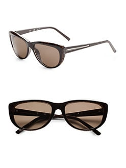 Givenchy - Cat's-Eye Resin Sunglasses/Brown Leopard