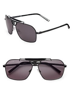 DSQUARED - Metal & Acetate Square Sunglasses