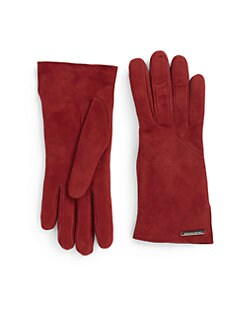 Costume National - Vented Suede Gloves