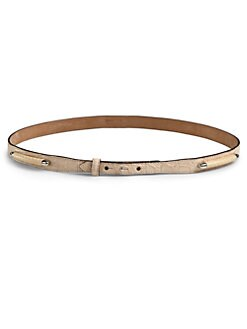 Roberto Cavalli - Croc Leather Belt
