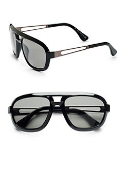 Tod's - Thick-Rimmed Navigator Sunglasses