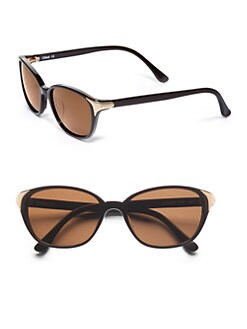 Chloe - Cat-Eye's Acetate Sunglasses