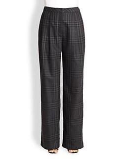 Adam Lippes - Wide-Leg Wool & Cashmere Pants