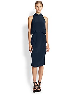 Tamara Mellon - Silk Halter Dress
