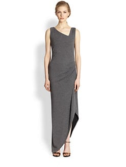 Veronica Beard - Asymmetrical Jersey Maxi Dress