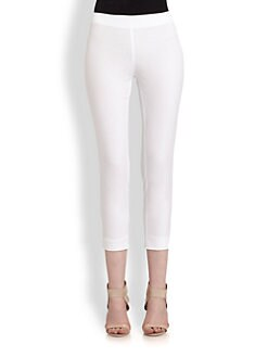 Philosophy - Cropped Stretch Cotton Skinny Pants