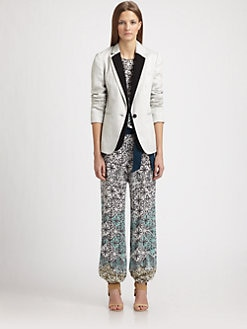 Veronica Beard - Two-Way Tuxedo Blazer & Dickey