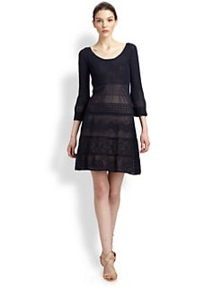 Philosophy - Pointelle Knit Dress