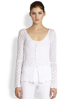 Philosophy - Crochet Knit Cardigan