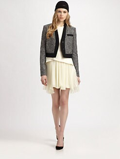 Philosophy - Cropped Wool Jacket