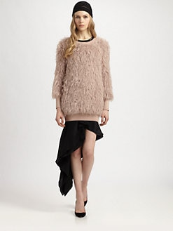 Philosophy - Faux Fur Sweater