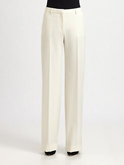 Philosophy - Wide-Leg Stretch Gabardine Pants