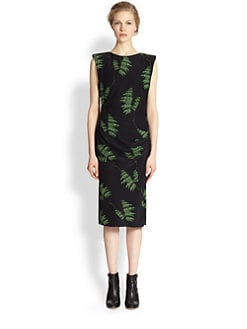 Veronica Beard - Silk Wheatfield-Print Dress