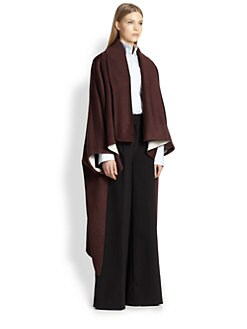 Adam Lippes - Reversible Cashmere & Wool Cape
