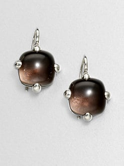 Pomellato 67 - Sterling Silver Cabochon Drop Earrings