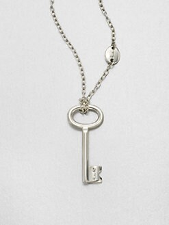 Pomellato 67 - Sterling Silver Chain Link Key Enchancer