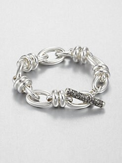 Pomellato 67 - Sterling Silver Toggle Bracelet