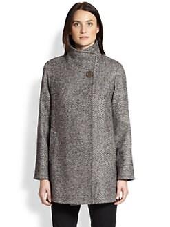 Cinzia Rocca - Tweed Car Coat