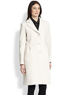 Cinzia Rocca - Pleated Walking Coat