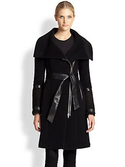 Mackage - Shearling & Leather Coat