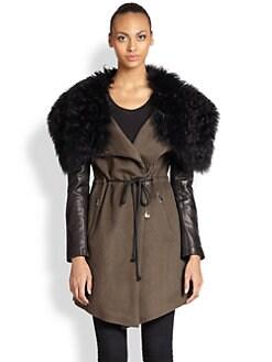 Ashley B - Fur-Collar Coat