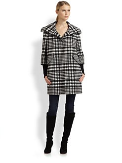 Cole Haan - Houndstooth Coat