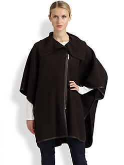 Cole Haan - Wool/Alpaca Blanket Cape