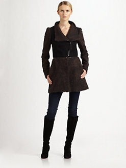 Mackage - Mixed-Media Convertible Coat