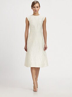 Valentino - Cap-Sleeve Dress
