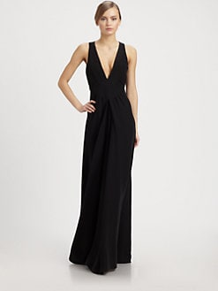 Valentino - Sleeveless Cady Jumpsuit