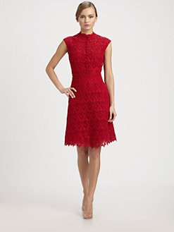 Valentino - Macram&eacute; Lace Dress