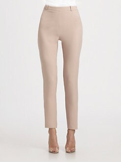 Valentino - Cropped Silk Pants