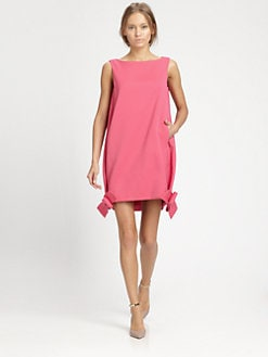 Valentino - Techno Bow-Hem Dress