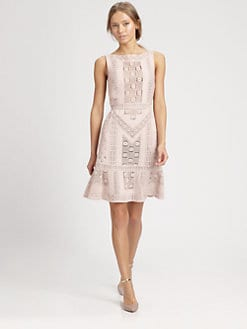 Valentino - Sleeveless Guipure Dress