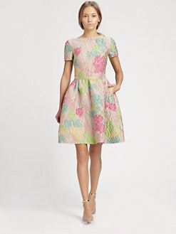 Valentino - Jacquard Dress