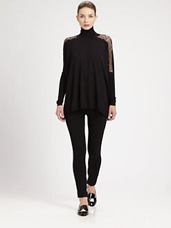 Valentino - Compact Cropped Leggings
